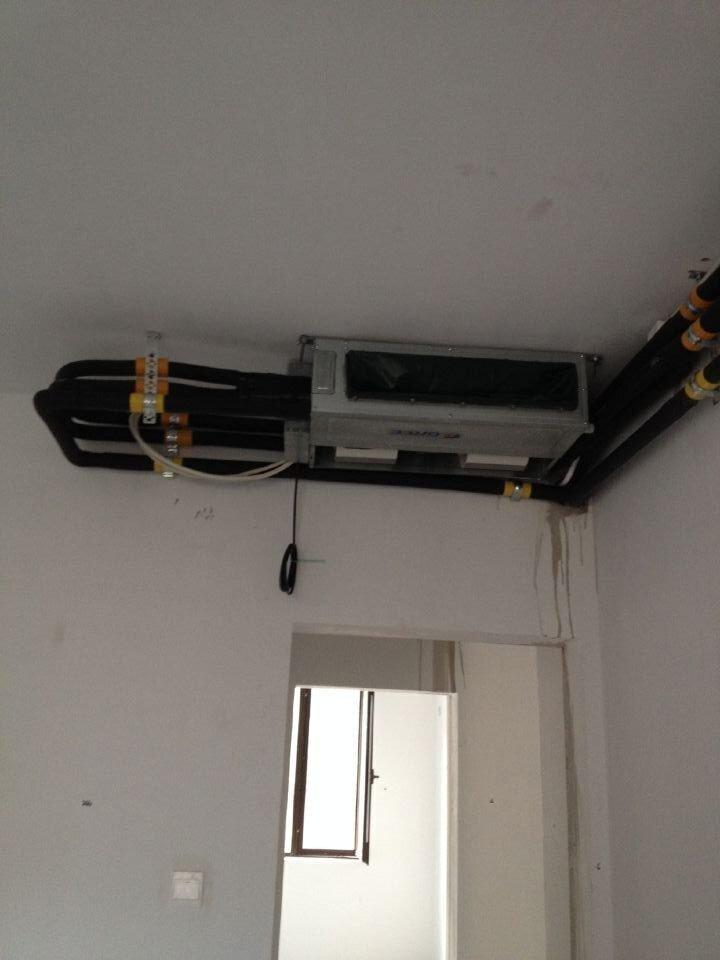 济南卧室中央空调安装
